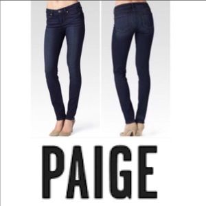 Paige Skyline Skinny Women's $159 29 Dark Wash Tw